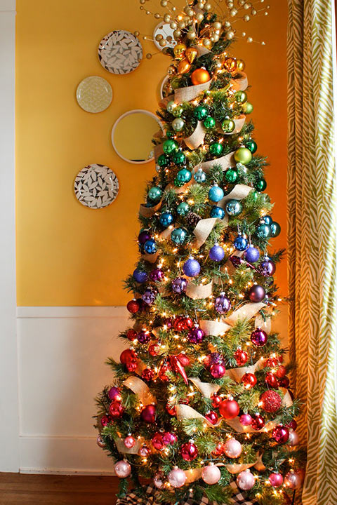 11 Beautiful Christmas Tree Decoration Ideas That are Home