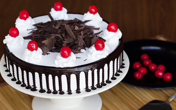Black Forest Cake for Celebrating Birthday