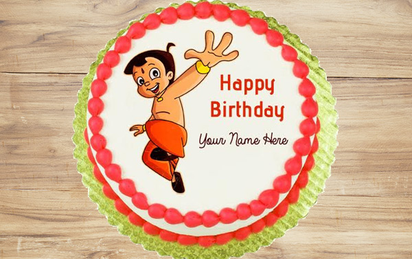 Chhota Bheem Cake for Kid's Birthday