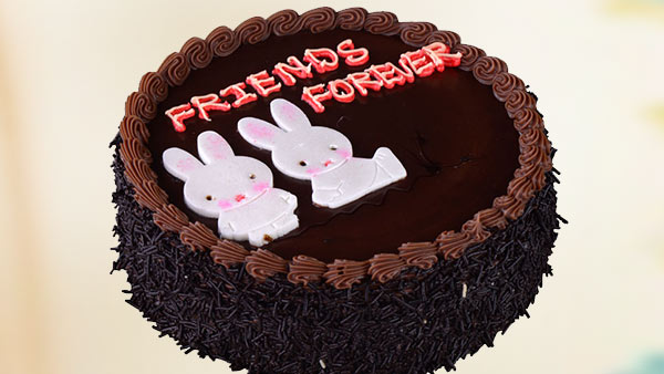 Friendship Day Celebration with a Delicious Cake