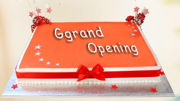 Celebrate Grand Opening of Your Office, Business or Else by Sharing Cake