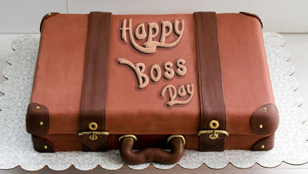 Celebrate Boss's Day by Sending a Surprise Cake to Your Boss