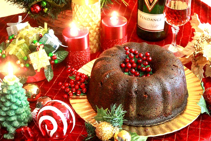 Preparation of Ultimate Christmas Fruit Cake