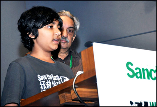 Madhav of group (Kids for Tigers) : A noteworthy environmentalist