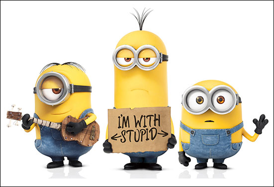 A crazy friend Minion and its level of craziness