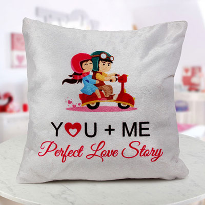 Story Cushion as a LDR Valentine Gift