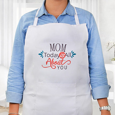 Gift Apron to Your Mother on Mother's Day