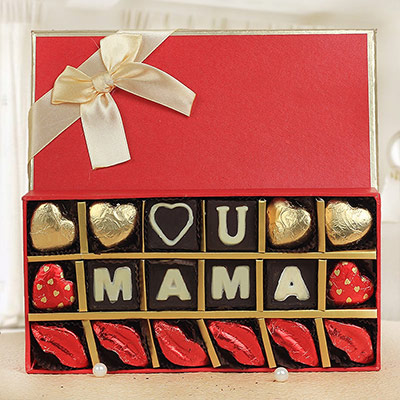 Confession To Mom - A luxury box of delicious handmade chocolates as Mother's Day gift