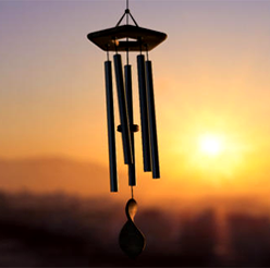 Chimes / Breeze Feng shui gift - For money cure