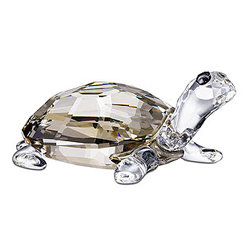 Crystal tortoise Feng shui gift - For good career and good luck
