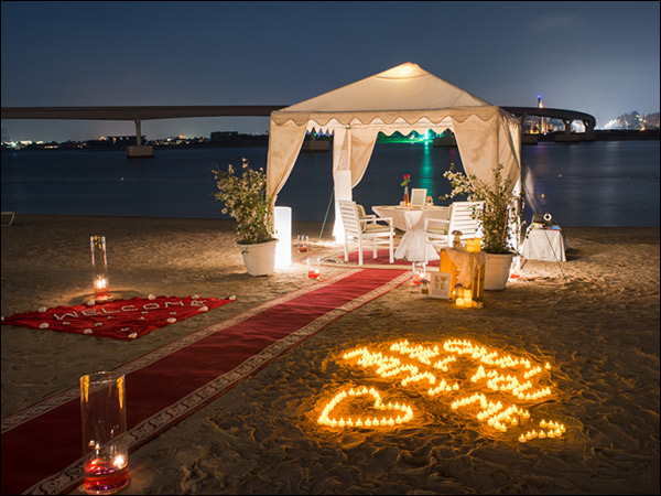 A romantic destination where you can take your girl for proposal
