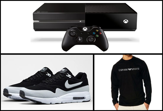 Video games, sneakers, designer shirt - Rakhi Gifts for College going Brother