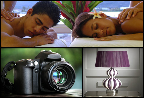 Spa session, camera, home decor - Rakhi Gifts for Married Brother