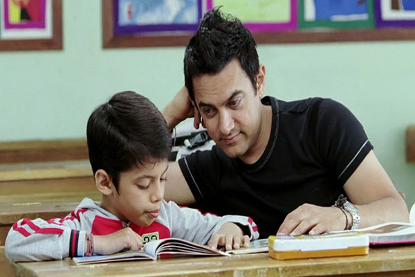 Aamir Khan in Taare Zameen Par  - A Guardian Angel teacher