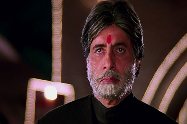 Amitabh Bachan in Mohabbatein - A perfect example of a disciplinarian teacher