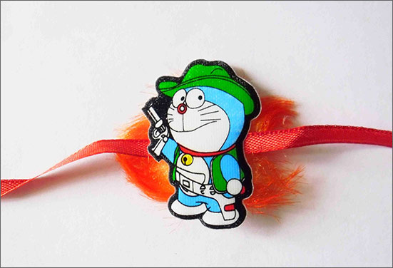 Doraemon Rakhi - A trending Rakhi of the year