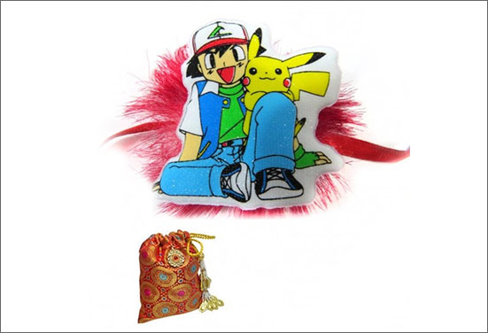 Pokemon Rakhi -  A trending Rakhi of the year