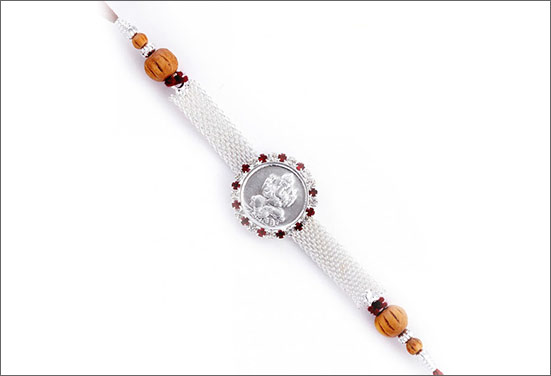 Silver Rakhi - A trending Rakhi of the year