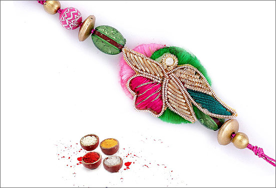 Zardoshi Rakhi - A trending Rakhi of the year