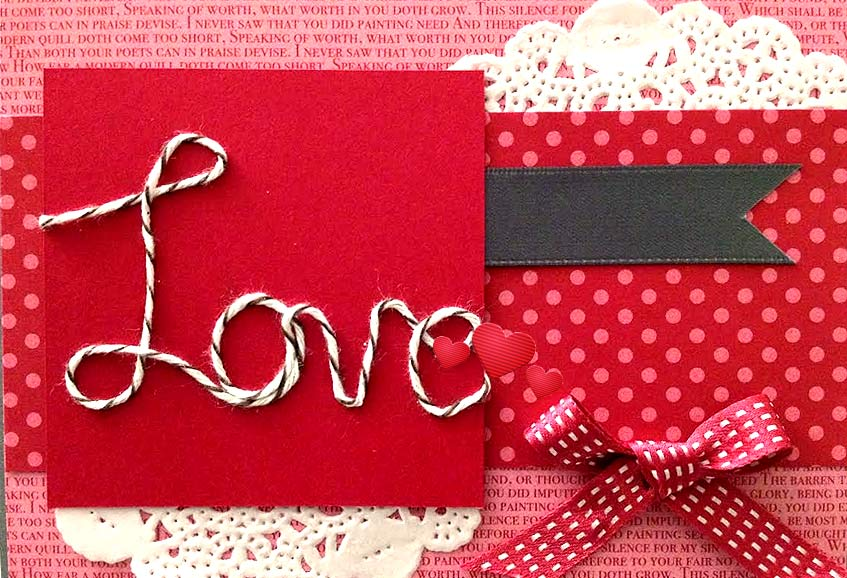 Add a Creative Touch to the Cards & Express Your Feelings on Valentine Day