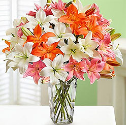 Bouquet of Lily - Perfect flower for Zodiac sign Taurus