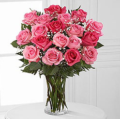 Bouquet of pink Roses - Perfect flower for Zodiac sign Virgo